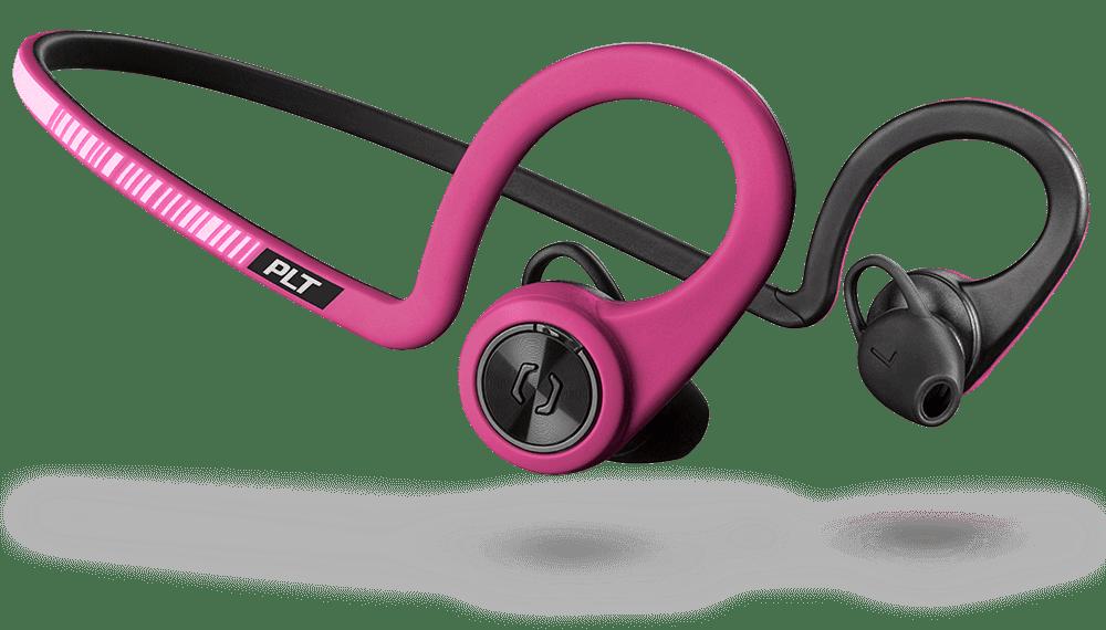 Plantronics BackBeat FIT bezdrátová sluchátka, fialová