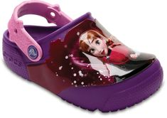 Crocs FunLab Lights Frozen Clog Berry