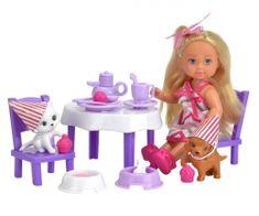 SIMBA laleczka Evi - przyjęcie dla zwierzaków
