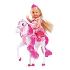 SIMBA Bábika Evička - princezná s koňom