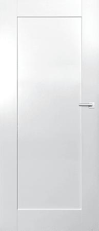 VASCO DOORS Interiérové dveře ARVIK plné, model 7, Bílá, D