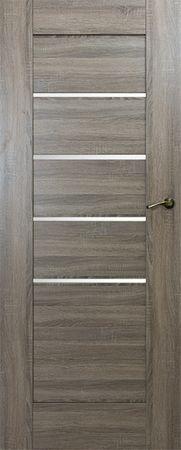 VASCO DOORS Interiérové dveře IBIZA kombinované, model 5, Dub sonoma, A