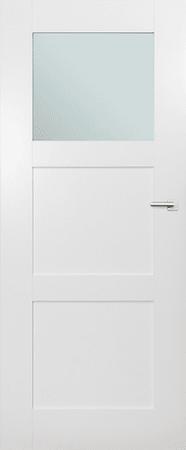 VASCO DOORS Interiérové dveře ARVIK kombinované, model 2, Bílá, D