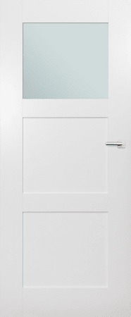 VASCO DOORS Interiérové dveře ARVIK kombinované, model 2, Dub sonoma, C