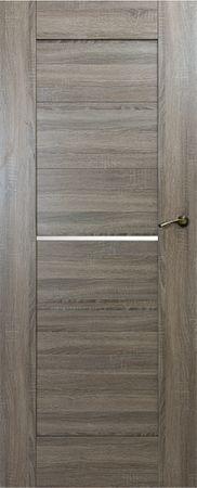 VASCO DOORS Interiérové dveře IBIZA kombinované, model 2, Dub riviera, B