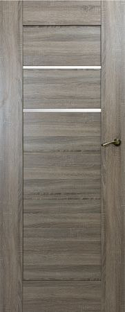 VASCO DOORS Interiérové dveře IBIZA kombinované, model 3, Dub sonoma, C
