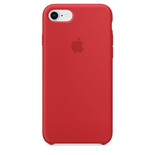 Apple Silikonový Kryt, Apple Iphone 7 / 8, mqgn2zm/A, Red