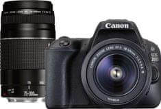 Canon EOS 200D + 18-55 DC III + 75-300 DC III (2250C025AA) + Cashback 1200 Kč! + 500 Kč na fotoslužby