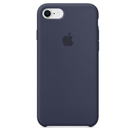 Apple Silikonový kryt, Apple iPhone 7 / 8, MQGM2ZM/A, Midnight Blue
