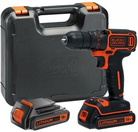 Black+Decker akumulatorski vrtalnik/vijačnik BDCDD186KB
