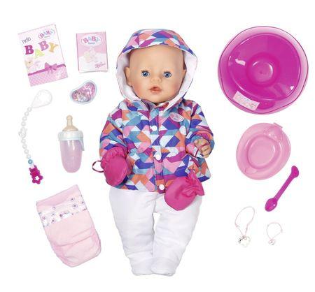 BABY born interaktivni dojenček, posebna zimska izdaja