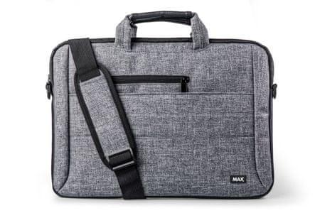 MAX torba za prenosnik MLB1501G, siv