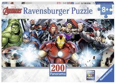 Ravensburger Avengers panorama 200 dílků