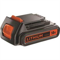 Black+Decker baterija Li-Ion, 18V, 2,0Ah