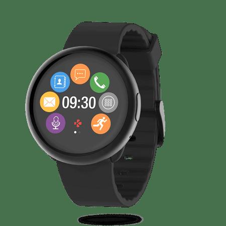 MyKronoz Chytré hodinky ZeRound2 černé  c60be89b83