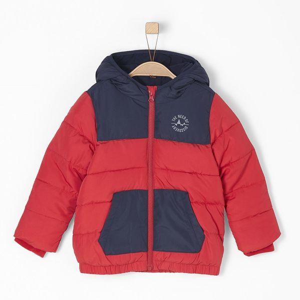 s.Oliver chlapecká bunda 128 červená