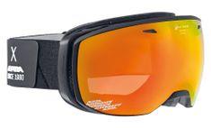 Luxusné lyžiarske okuliare čierna  94568ec0862