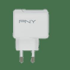 PNY Síťová nabíječka USB-C EU (P-AC-TC-WEU01-RB), White