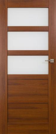 VASCO DOORS Interiérové dveře BRAGA kombinované, model 4, Dub sonoma, A