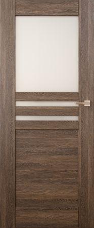 VASCO DOORS Interiérové dveře MADERA kombinované, model 5, Ořech, C
