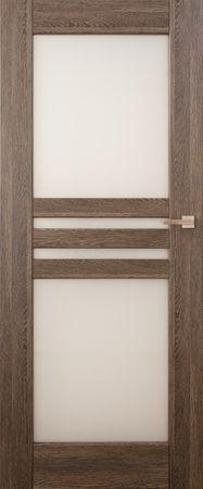 VASCO DOORS Interiérové dveře MADERA kombinované, model 6, Dub rustikál, A