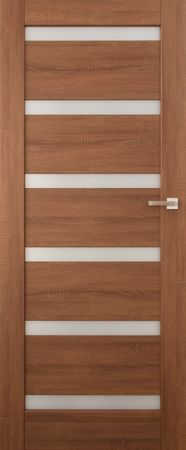 VASCO DOORS Interiérové dveře EVORA kombinované, model 5, Dub sonoma, A