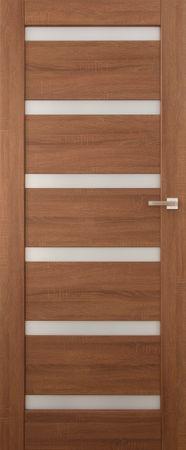 VASCO DOORS Interiérové dveře EVORA kombinované, model 5, Kaštan, A