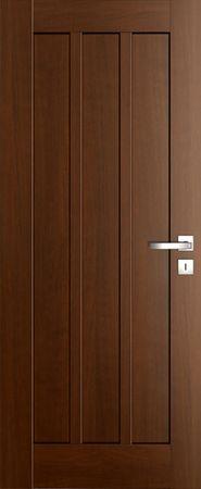 VASCO DOORS Interiérové dveře FARO plné, model 6, Ořech, D