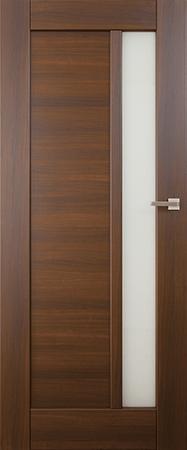 VASCO DOORS Interiérové dveře FARO kombinované, model 2, Ořech, C