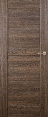 VASCO DOORS Interiérové dveře MADERA plné, model 1, Dub rustikál, C