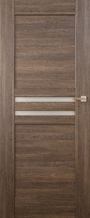 VASCO DOORS Interiérové dveře MADERA kombinované, model 4, Dub rustikál, B