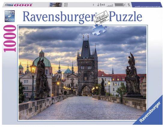 Ravensburger Praha: Prechádzka po Karlovom moste 1000 dielikov