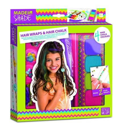 Wooky Kriedy a farebné náplety na vlasy