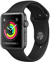 Apple Watch Series 3 GPS, 38mm Space Grey Aluminium