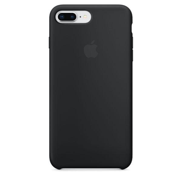 Apple Silikonový Kryt, Apple Iphone 7 Plus / 8 Plus, mqgw2zm/A, Black