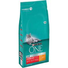 Purina One hrana za odrasle mačke Sterilcat, piščanec s pšenico, 6 kg