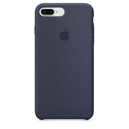 Apple silikonski ovitek iPhone 8/7 Plus Silicone Case - Midnight Blue