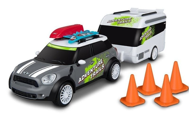 Nikko RC Mini Countryman s karavanem