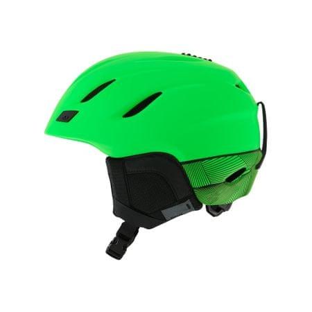 Giro smučarska čelada Nine, mat zelena, 59-62,5 cm