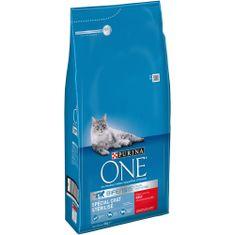 Purina One suha hrana za mačke Sterilcat z govedino in pšenico, 6 kg