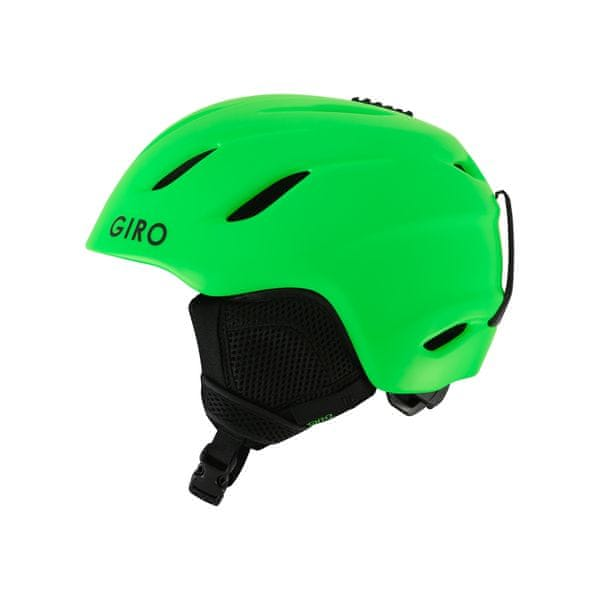 Giro Nine Jr Mat Bright Green M (55,5-59cm)