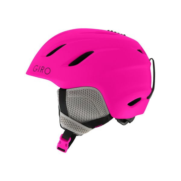 Giro Nine Jr Mat Bright Pink M (55,5-59cm)
