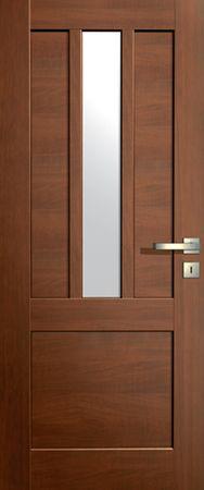 VASCO DOORS Interiérové dveře LISBONA kombinované, model 3, Dub skandinávský, A