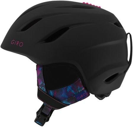 Giro ženska smučarska čelada Era, mat črna, 52-55,5 cm