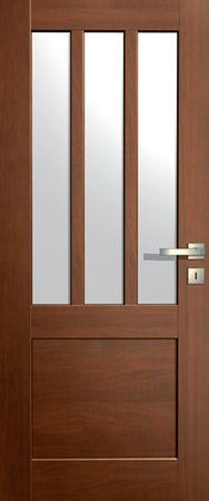 VASCO DOORS Interiérové dveře LISBONA kombinované, model 5, Dub skandinávský, D
