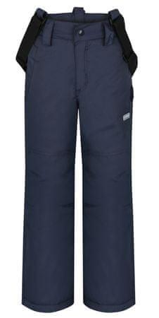 Loap otroške smučarske hlače Omar, sive, 134-140