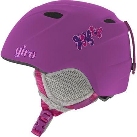 Giro otroška smučarska čelada Slingshot, mat vijolična, 49-52 cm