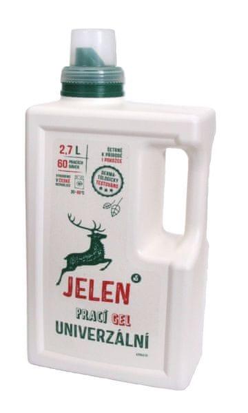 Jelen Prací gel univerzální 2,7 l (60 praní)