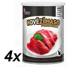 Akinu PREMIUM Hovädzie mäso pre mačky 4 x 400g