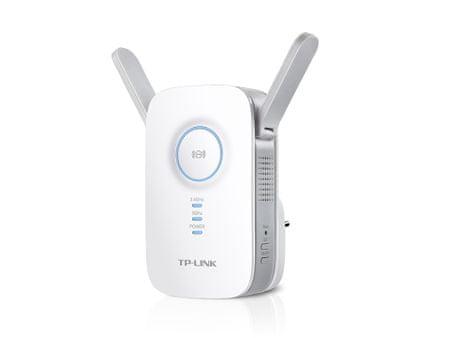 TP-Link AC1200 Dual Band WiFi range extender, bílý (RE350)